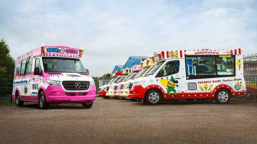 Mercedes-Benz Sprinter Ice Cream Truck