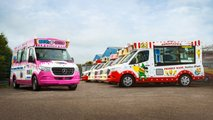 Mercedes-Benz Sprinter furgoneta de helados