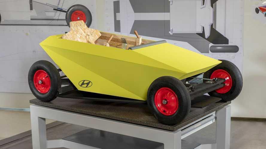 Hyundai'ın bu tasarımını evde kendiniz üretebileceksiniz!