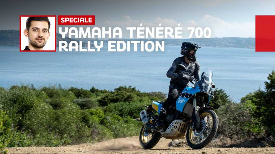 Yamaha Ténéré 700 Rally Edition: la prova dell'endurona da Dakar
