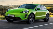 Porsche Macan Electric Renderings