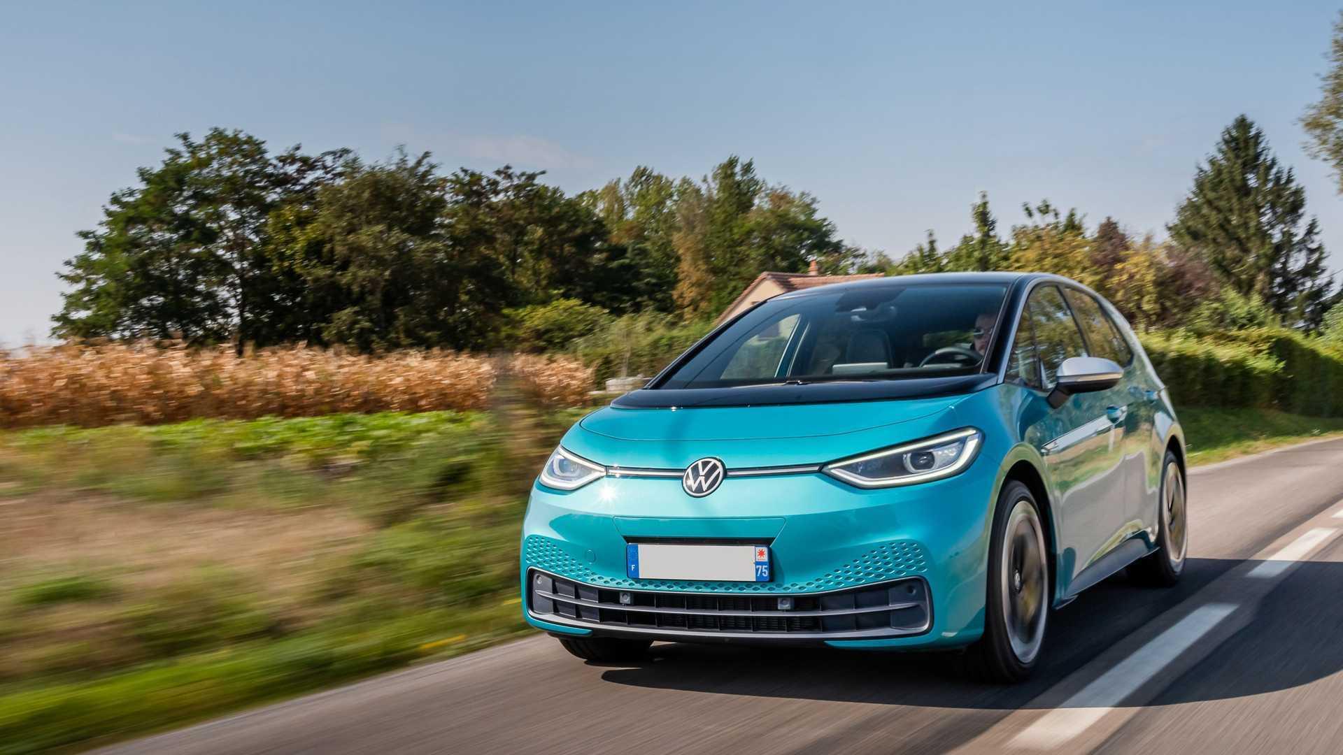 Teste Volkswagen ID.3 (2020) - frente