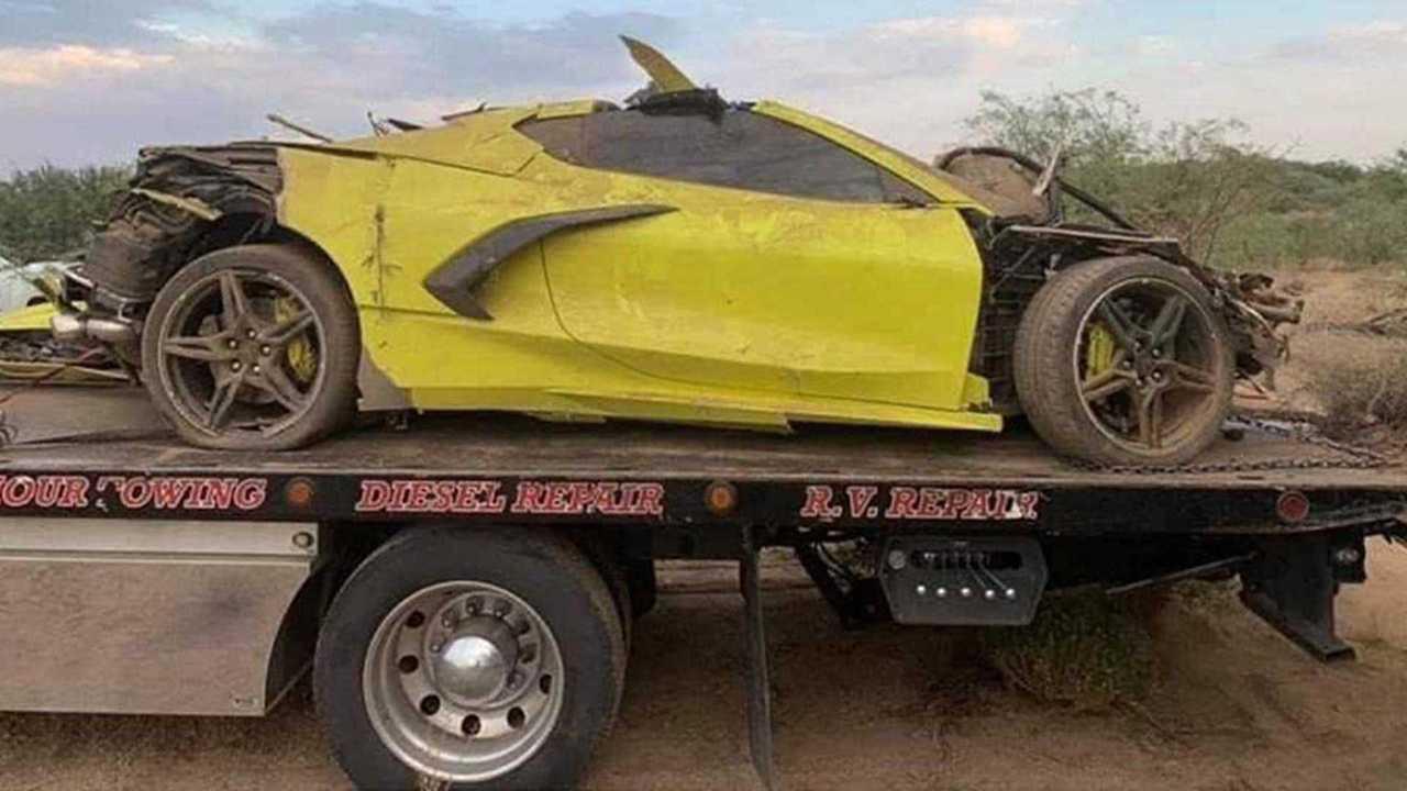 Összetört Corvette
