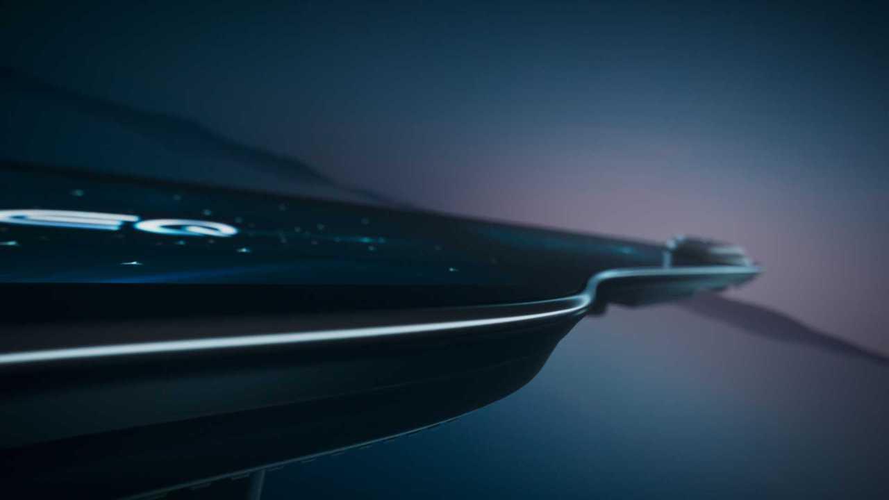 Mercedes-Benz MBUX Hyperscreen Ambientebeleuchtung