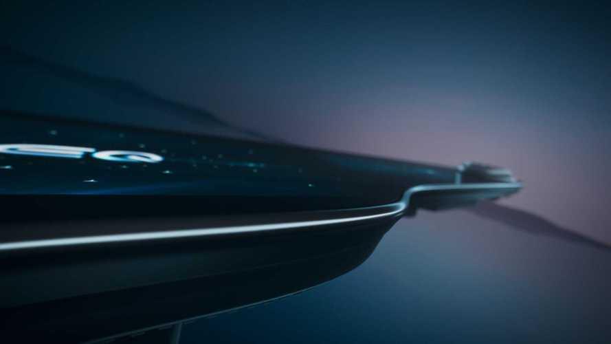 Écran MBUX Hyperscreen dans Mercedes EQS