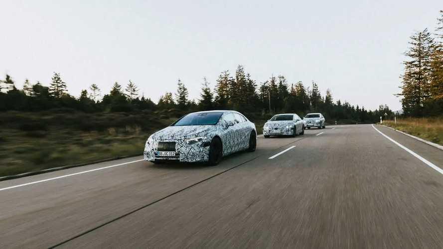 Nova plataforma elétrica da Mercedes
