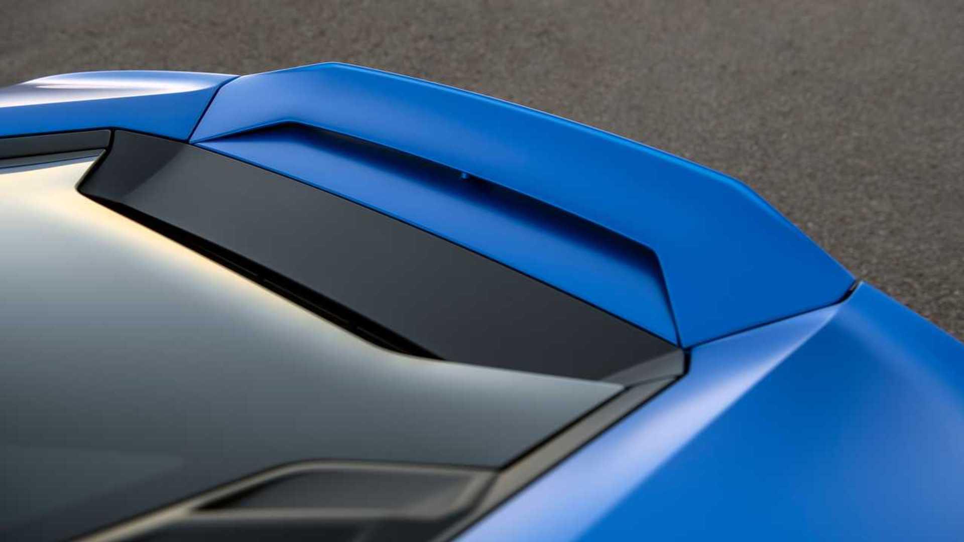 2020 Lamborghini Huracan Evo RWD spoiler