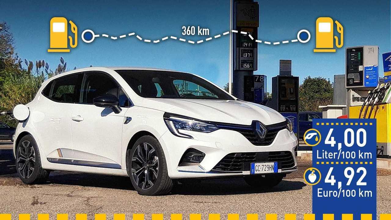 Renault Clio E-Tech 140 (2020) im Verbrauchstest