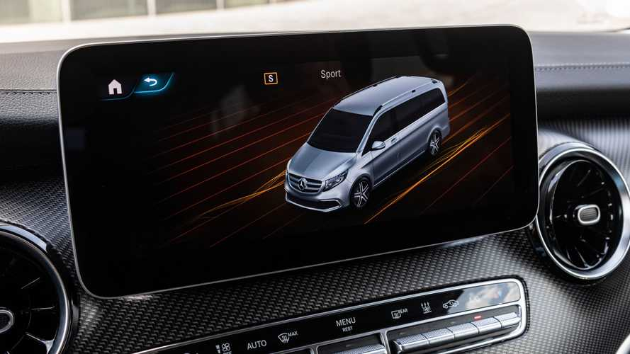 Mercedes V-Klasse (2021) mit Luftfederung