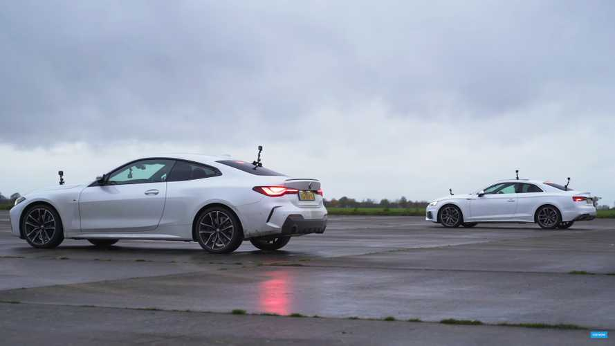 BMW 4 Series Drag Races Audi A5 In 'Affordable' Coupe Showdown