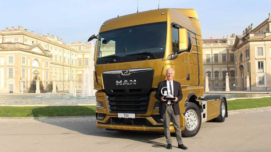 MAN TGX è il Truck of the Year 2021