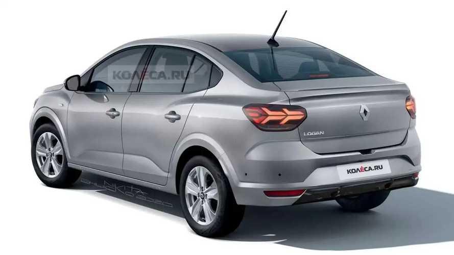 Novo Renault Logan 2022 - Projeção