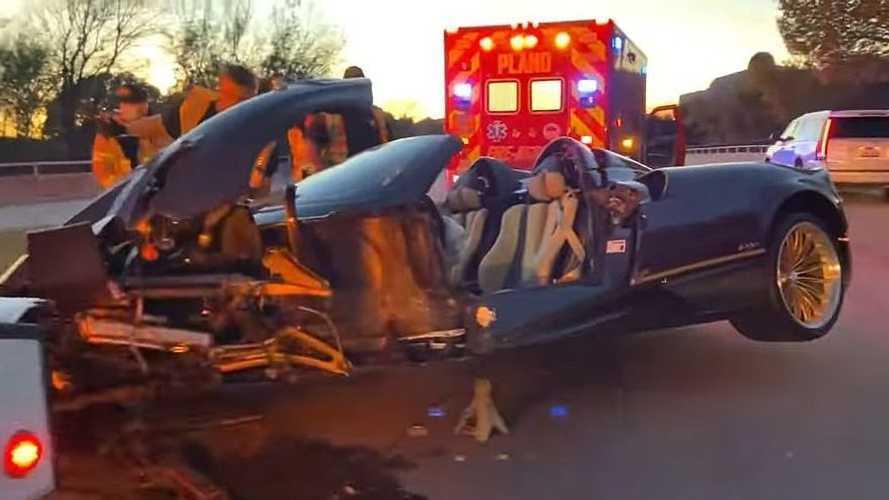 Vídeo: un adolescente destroza el Pagani Huayra Roadster de su padre