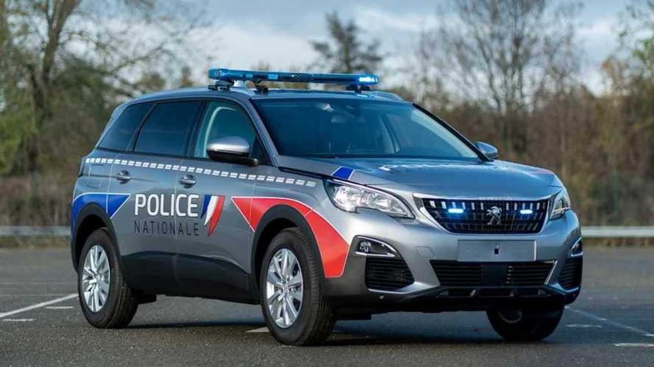 Peugeot 5008 für französische Polizei