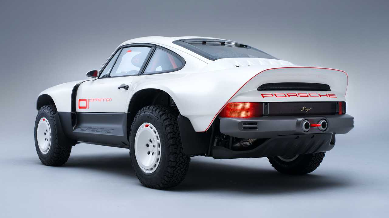 Porsche disputes Singer All-Terrain Competition Study's design.