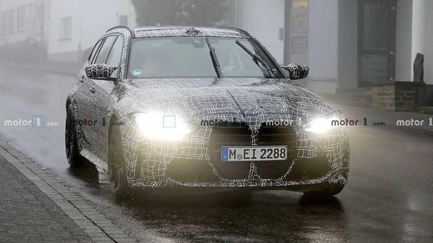 BMW M3 Touring Spy Photos