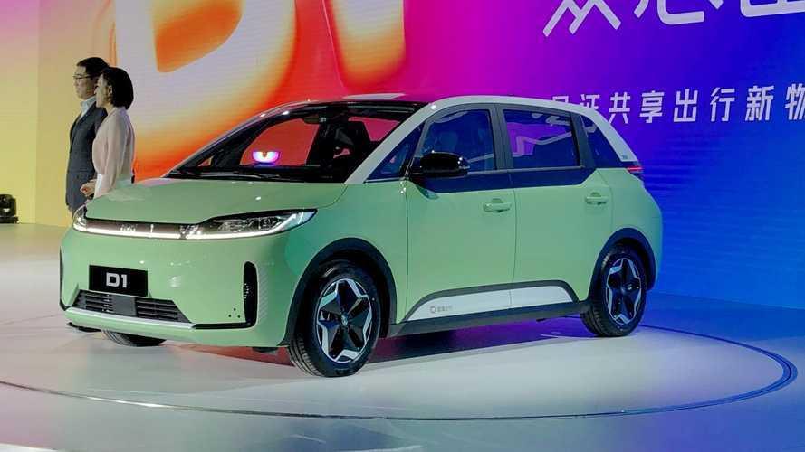 """""""Uber chinês"""" lança seu próprio carro com condução autônoma e visual à la ID.3"""