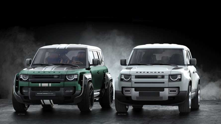 Land Rover Defender Racing Green Edition by Carlex Design