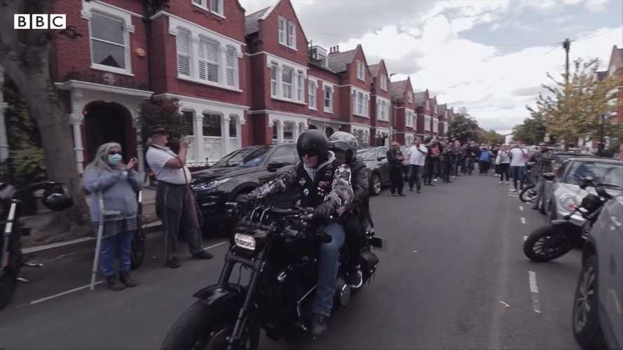 Terminally ill 83-year-old Brit gets dying wish to ride a Harley-Davidson