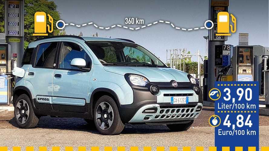 Tatsächlicher Verbrauch: Fiat Panda Hybrid im Test