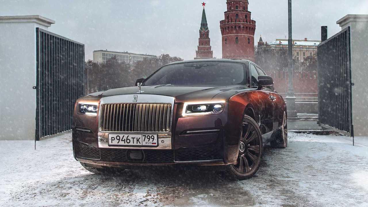 Новый Rolls-Royce Ghost появится в России в январе 2021 года