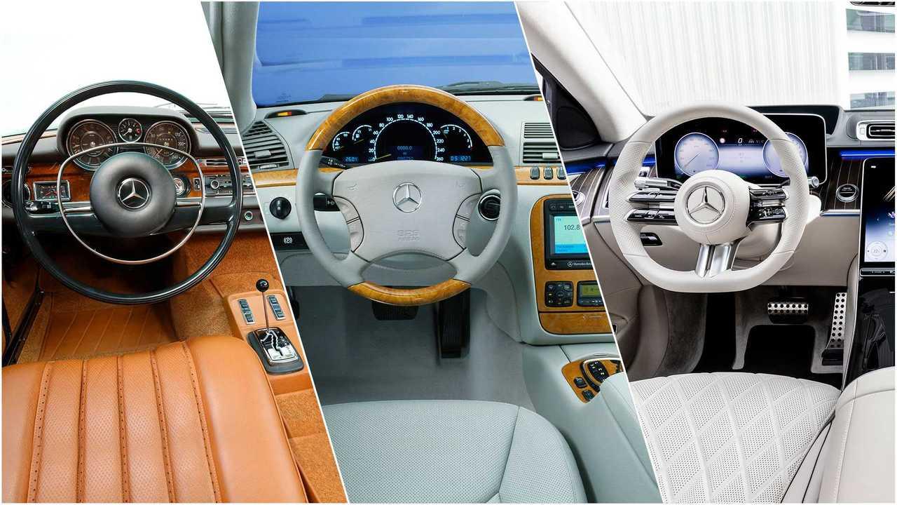 Mercedes Classe S, generazioni e innovazioni a confronto