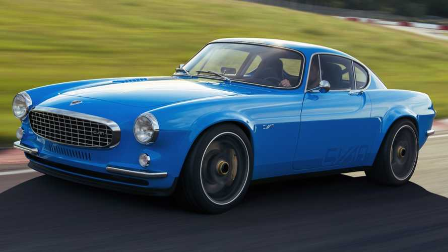 Volvo P1800 Cyan marks return of a classic coupe, now with 413 bhp
