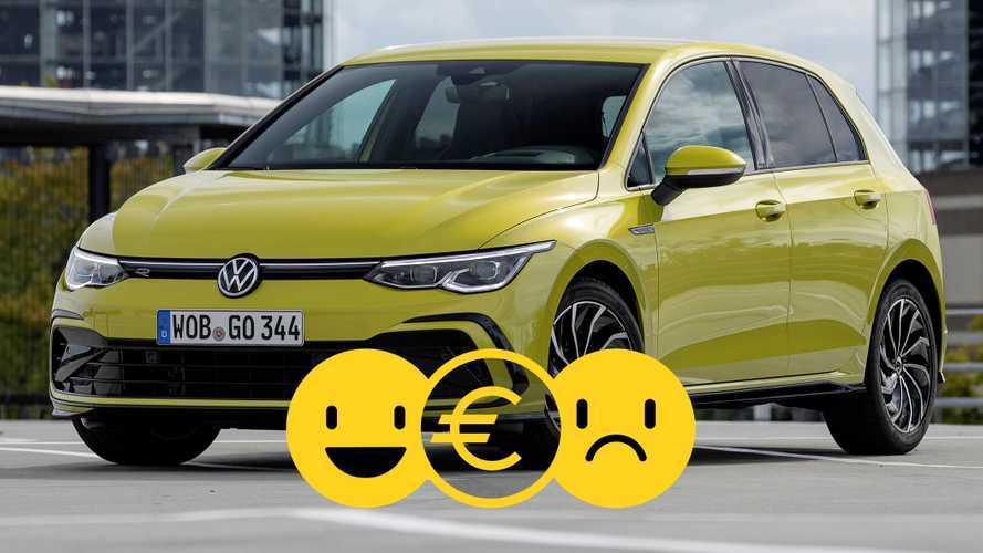 Promozione Volkswagen Golf 8 e-TSI, perché conviene e perché no