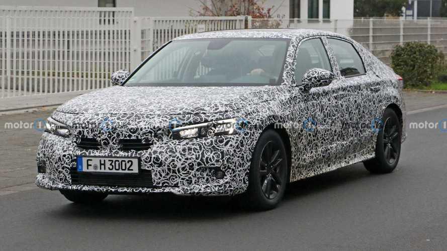 Novo Honda Civic esconde menos de nova carroceria poucos dias antes de apresentação