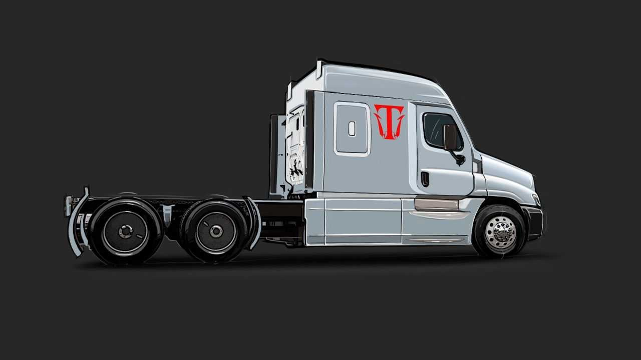 Triton-EV electric semi-truck