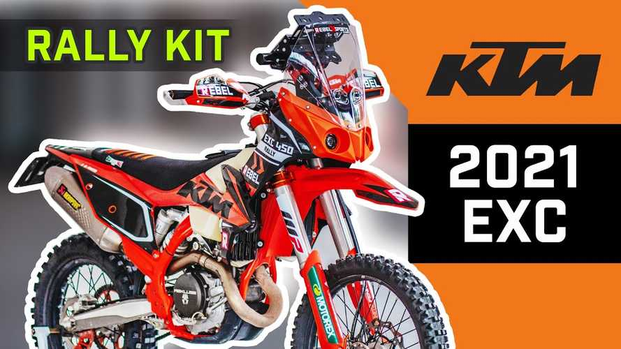 Rebel X Introduces New KTM EXC And Husqvarna FE Rally Kits