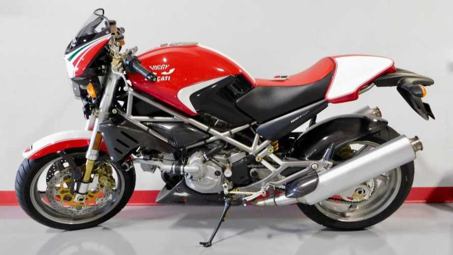 This Ducati Monster S4 Fogarty Edition Only Has 2 Miles On The Clock