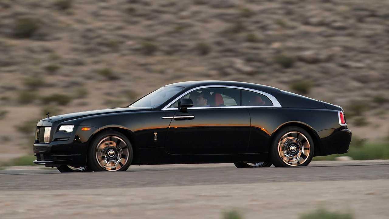 Rolls-Royce Wraith и его двери