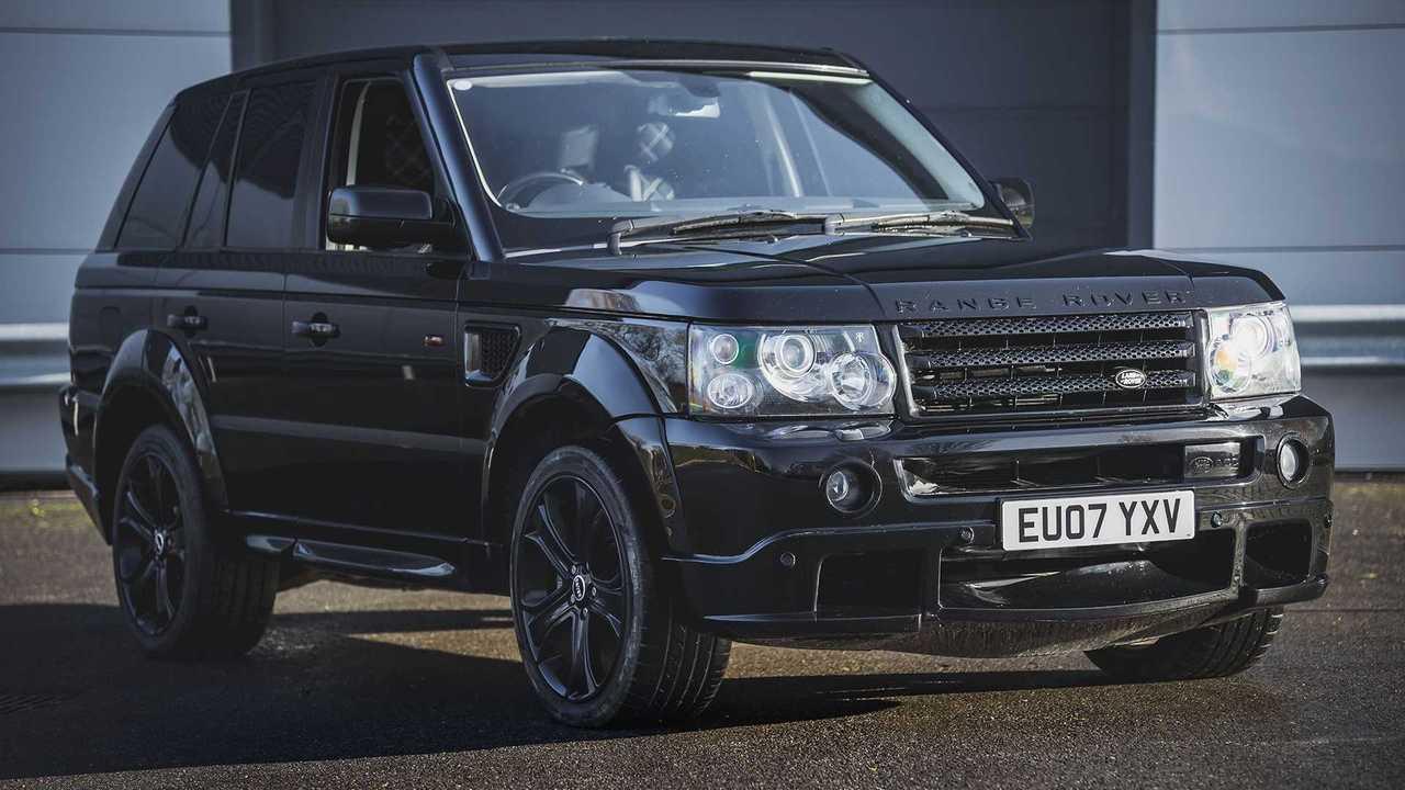Ex-David Beckham Range Rover for sale