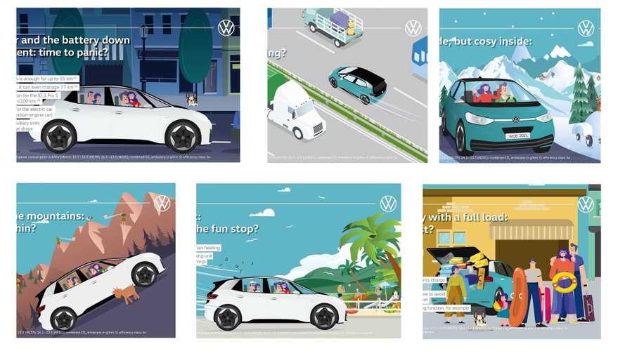 VW Lawan Kekhawatiran Mobil Listrik: Jarak, Perjalanan, hingga Cuaca