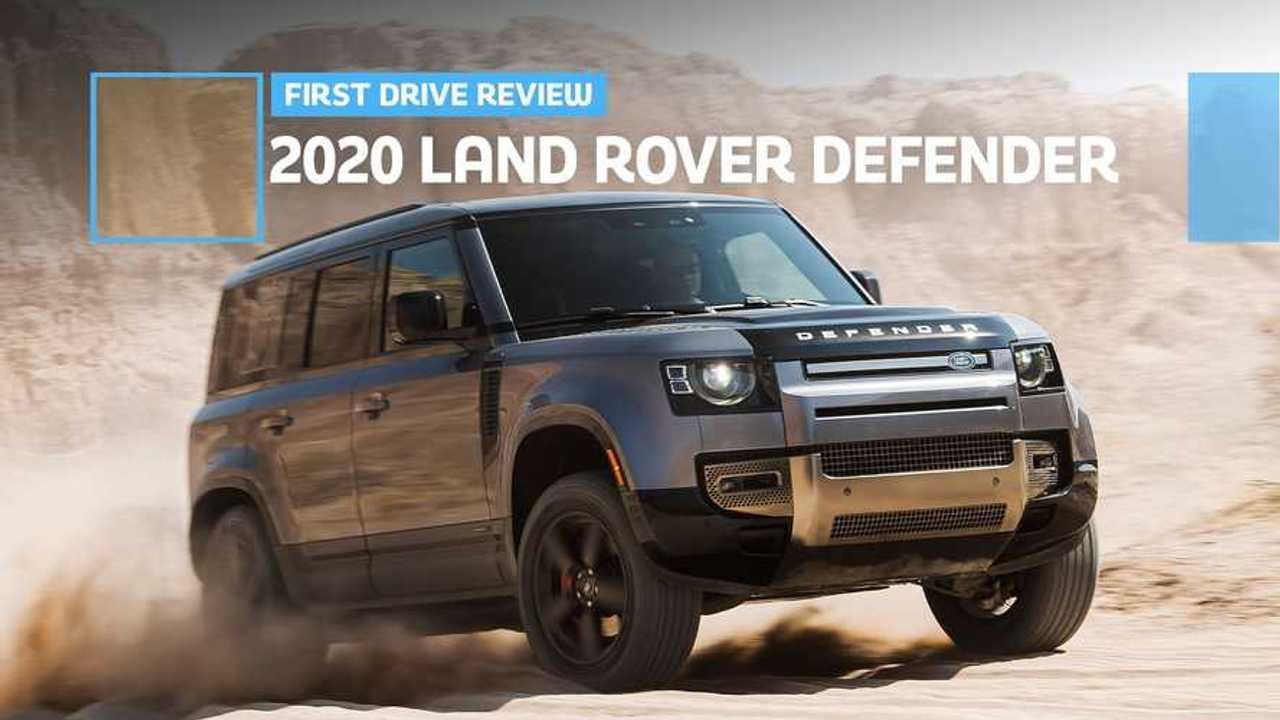 2020 Land Rover Defender 110 Lead Image