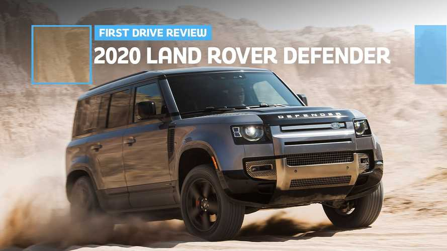 2020 Land Rover Defender First Drive Review: Playing In The Sand