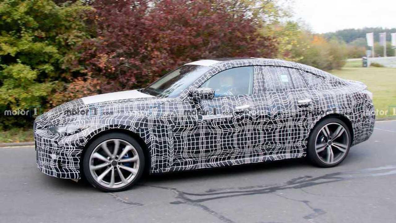 BMW i4 M Spy Photos
