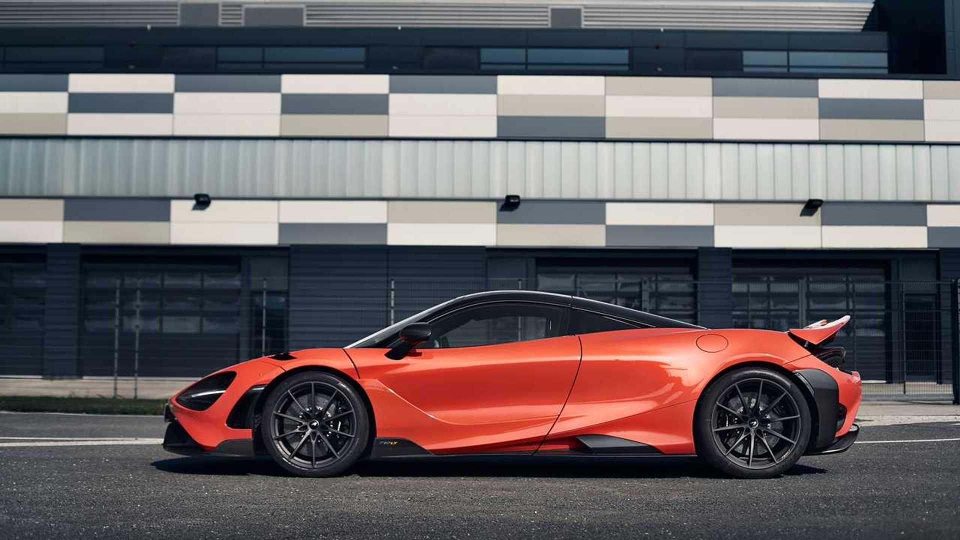 2021 McLaren 765LT profile static