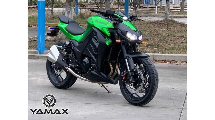 Yamax Z400, la cinese che copia la Kawasaki Z1000