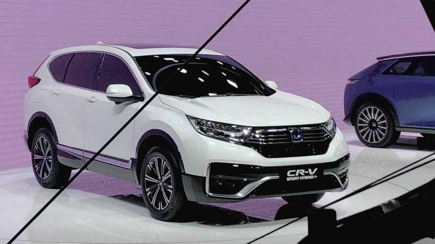 Honda lança CR-V híbrido plug-in com consumo declarado de 90 km/l