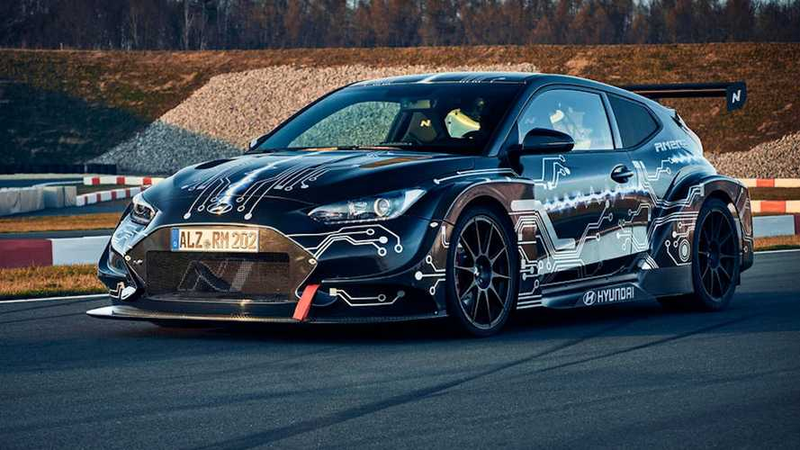 Hyundai RM20e revealed as electric hot hatch with 800 bhp
