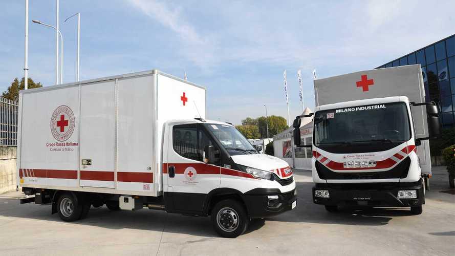 Iveco alla Croce Rossa Italiana oltre 55mila euro contro il Covid-19