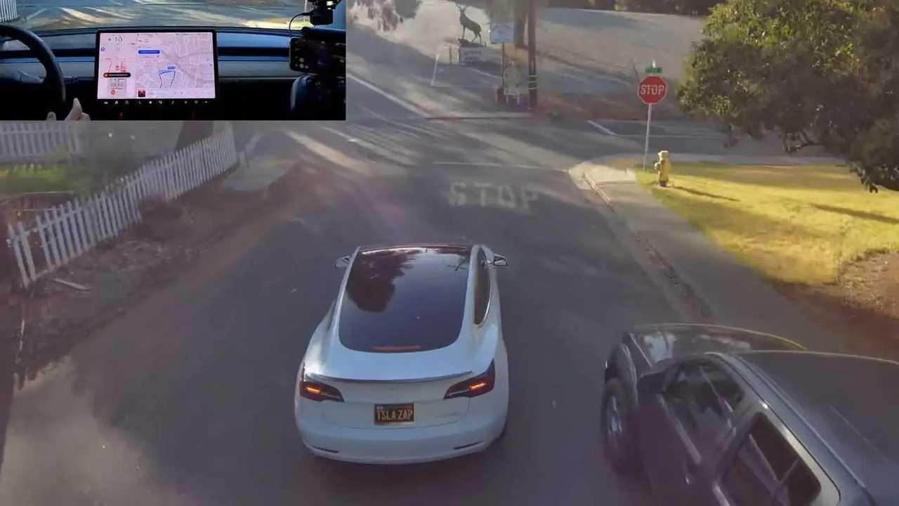 Tesla Model 3 FSD