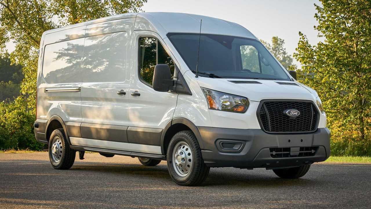 2021 Ford Transit Passenger Three Quarters
