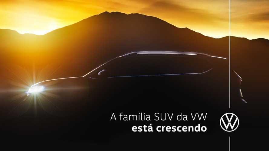 Projeto VW Tarek: novo SUV rival do Compass aparece em 2º teaser