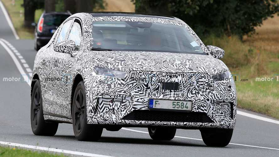 Skoda Enyaq Coupe spy photos