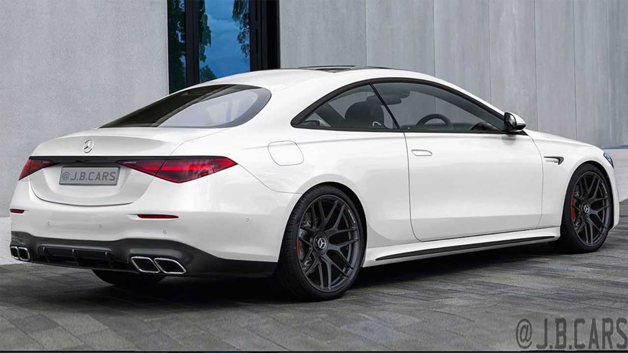 Mercedes S-Class Coupe Rendering