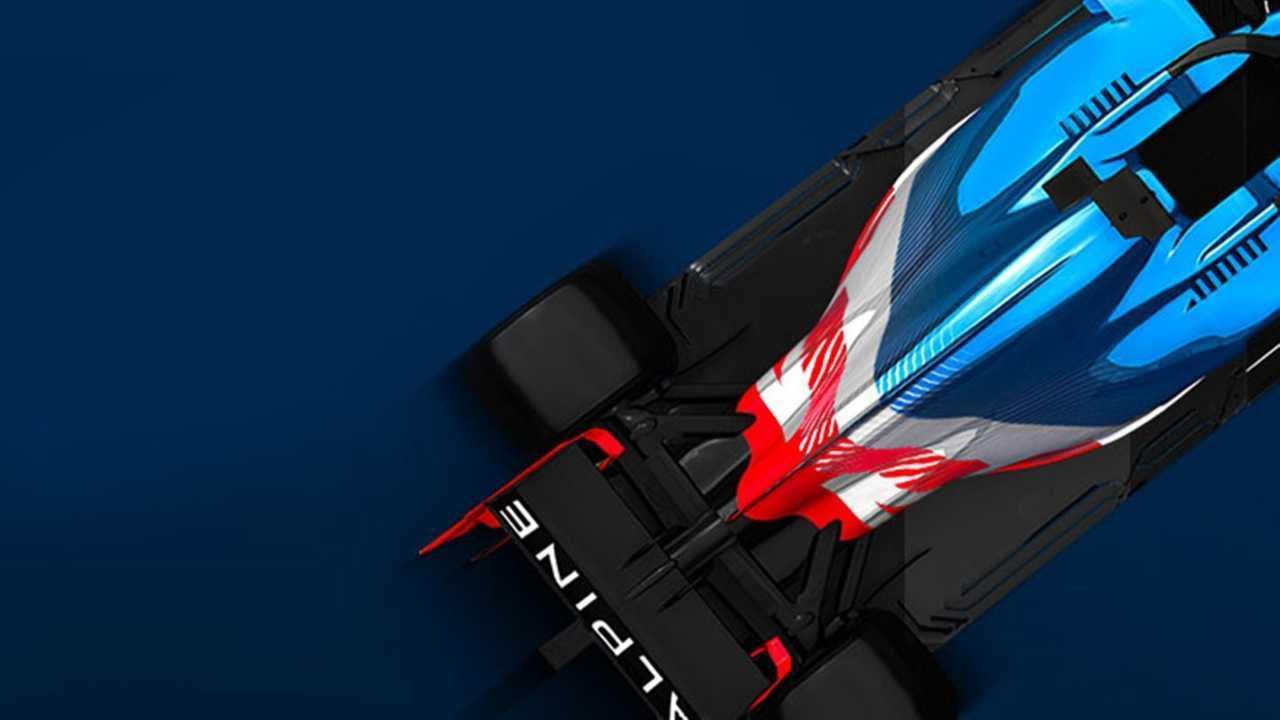 2021 - Alpine ismi tam anlamıyla F1'e dönüyor