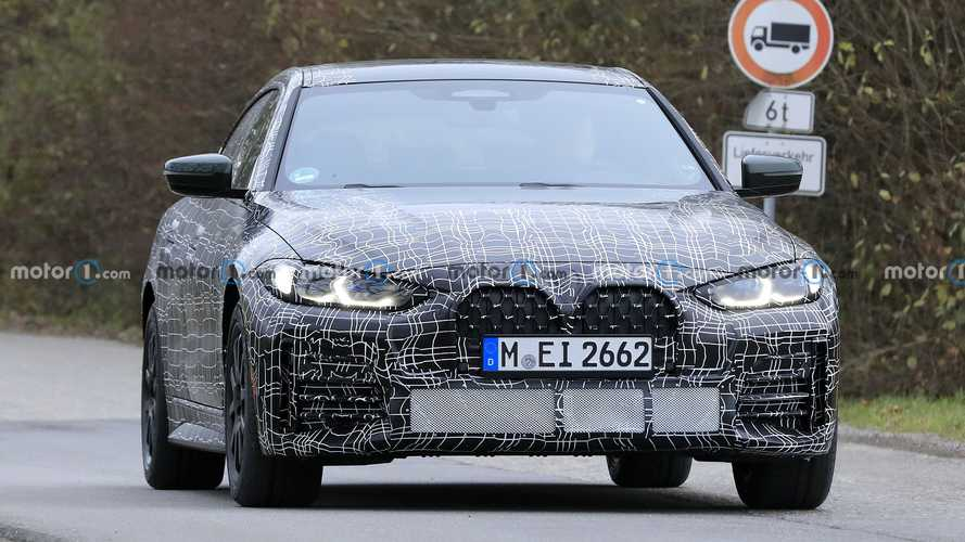 2022 BMW 4 Series Gran Coupe new spy photos